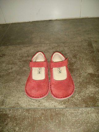 Zapatos ante, talla 24