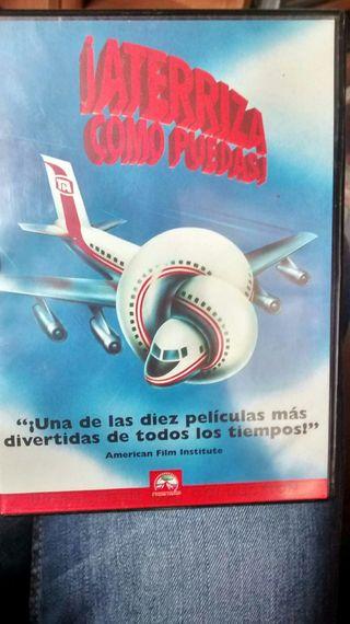 Pelicula Aterriza como puedas DVD