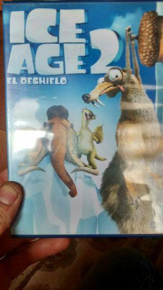 Pelicula Ice Age 2 dvd pelicula la famosa ardilla