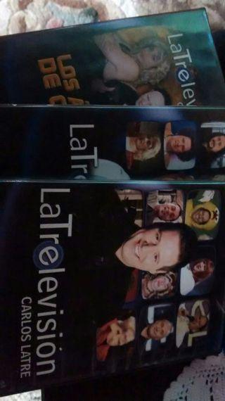 Miniserie Latrelevision DVDs carlos latre