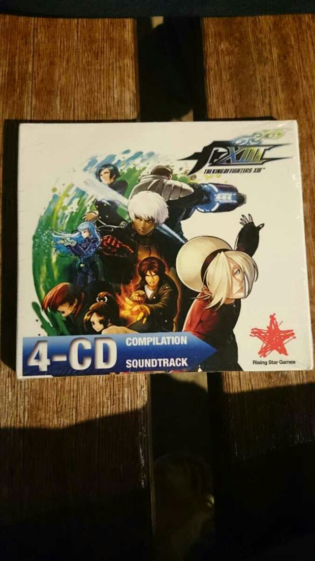 The king of fighters XIII SOUNTRACK