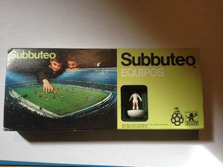 Subbuteo Real Madrid años 80. Borras