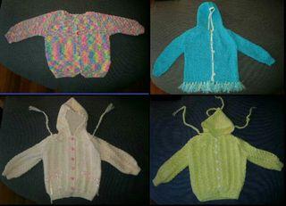 Urge vender chaquetas de niña bebe talla 12 meses nuevas