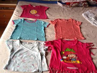 Camisetas Niña Talla 4