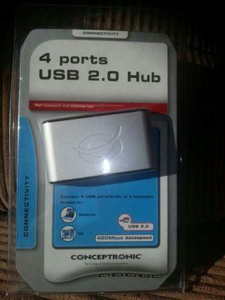 Hub 4 usb puertos