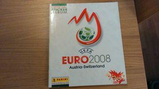 Album cromos futbol Eurocopa 2008