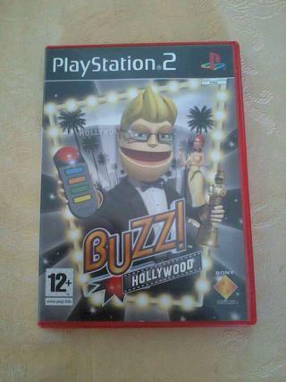 Juego ps2 buzz hollywood