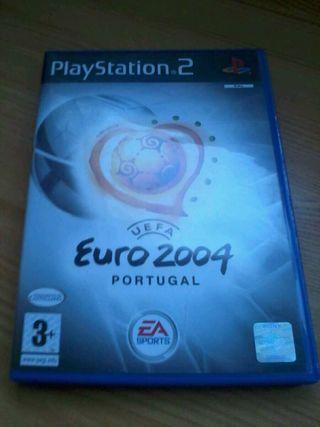 Uefa euro 2004 portugal ps2