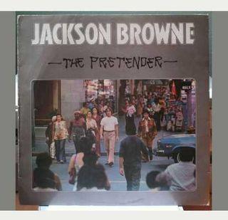 "Lp vinilo Jackson Browne ""The Pretender"""
