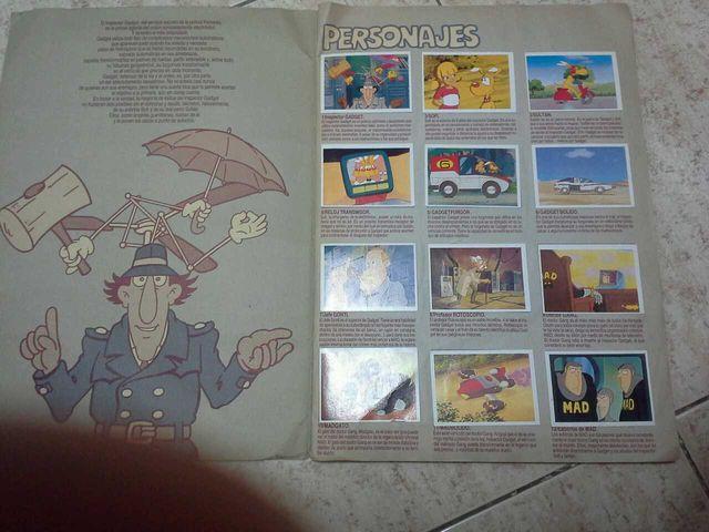 Inspector Gadget album de cromos