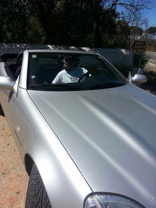 Mercedes Descapotable.