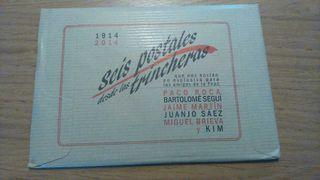 Postales sobre I Guerra Mundial
