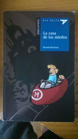 Libro de LA CASA DE LOS MIEDOS