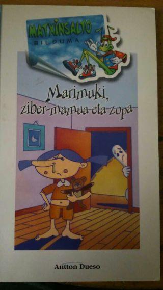 Libro en euskera MARIMUKI,ZIBER-MAMUA ETA ZOPA