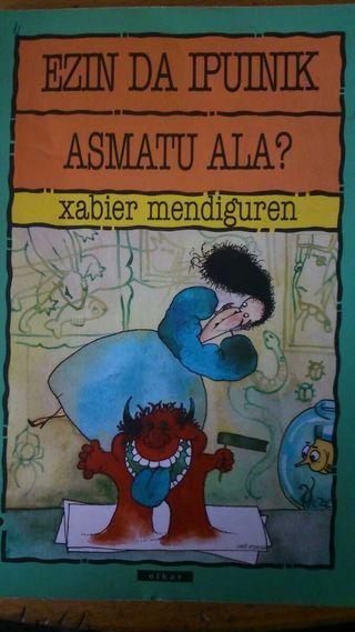 Libro en euskera EZIN DA IPUINIK ASMATU ALA?