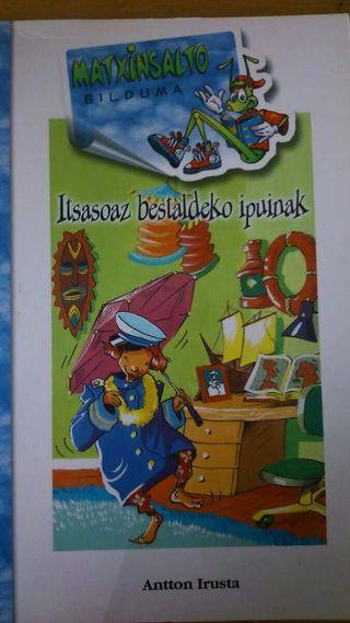 Libro en euskera ITSASOAZ BESTALDEKO IPUINAK