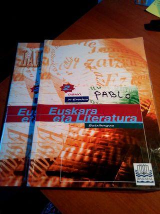 Libro euskera 2° bachiller.