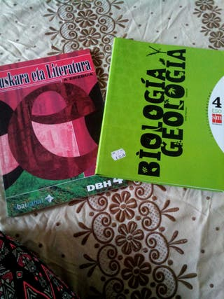 Libros 4°ESO. Biologia y geologia. Euskara
