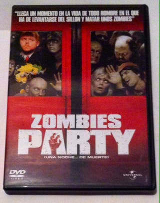 Zombies Party. Shaun Of The Dead. DVD.