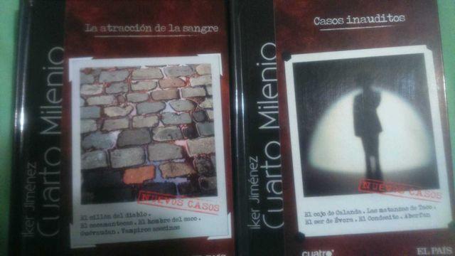 Capitulos Cuarto Milenio de segunda mano en Madrid en WALLAPOP