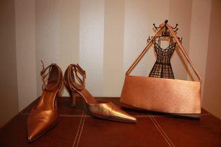 Zapatos fiesta y bolso - cartera