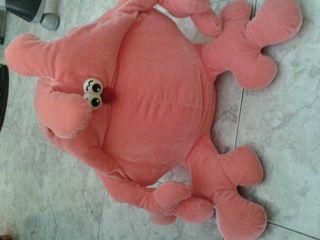 Muñeco rosa grande