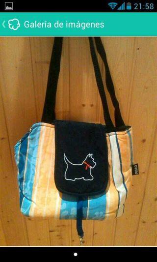 Bolso mochila perro