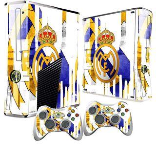 Vinilos Xbox Slim Real Madrid