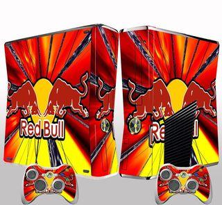 Vinilos Xbox Slim Red Bull