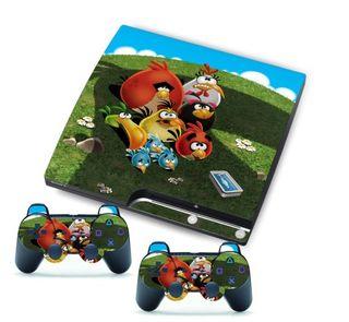 Vinilos Ps3 Slim Angry Birds