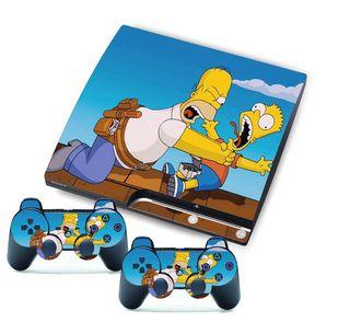 Vinilos Ps3 Slim Los Simpsons