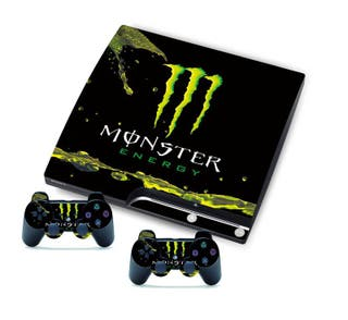 Vinilos Ps3 Slim Monster