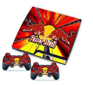 Vinilos Ps3 Slim Red Bull