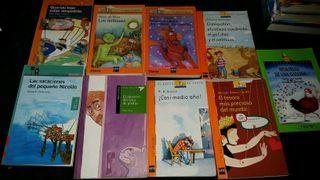 Libros de niños y adolescentes