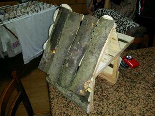 Casa de madera para roedores