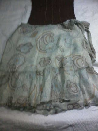 falda y top Mango