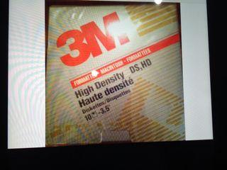 Disquetes 3.5 HD 3M