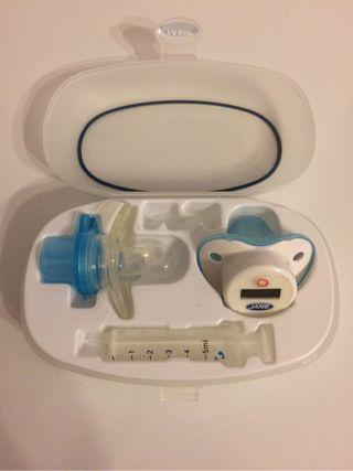 Pack Infantil: Termometro Y Dosificador De Medicinas