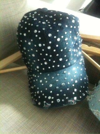 Gorras con brillante