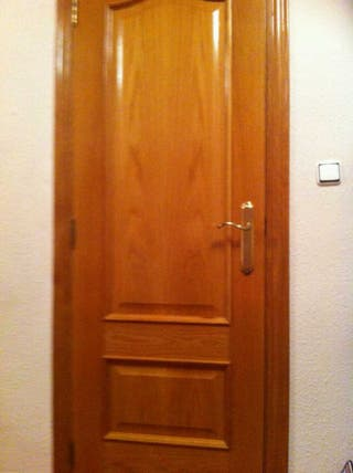 Puertas roble macizo