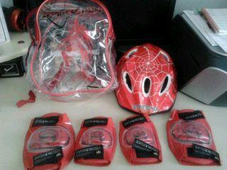 Conjunto casco para bici de niño