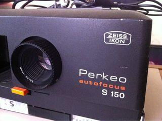 Proyector diapositivas zeiss ikon perkeo autofocus s 150