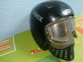 Vendo casco uvex por falta de uso y mascara