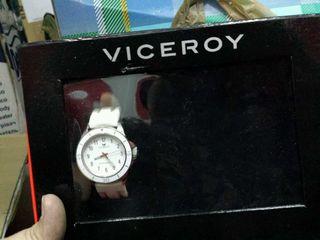Reloj viceroy de mujer caucho blanco