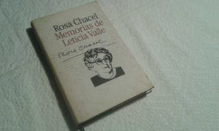 Memorias de Leticia Valle. Rosa Chacel