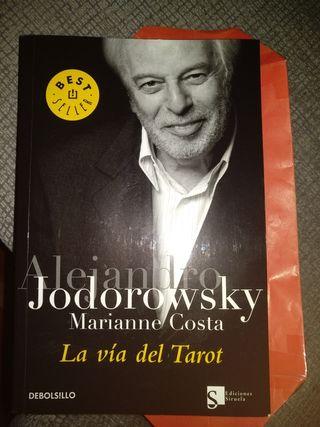 Libro la Via del Tarot de Jodorowsky