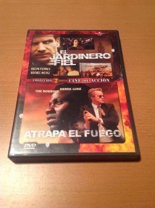 """Película En Dvd """"el Jardinero Fiel Y Atrapa El Fuego."""