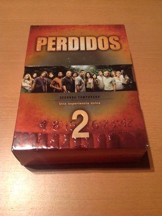 """Serie """"Perdidos"""" 2 Temporada En Dvd."""
