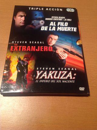 Cofre De Acción. 3 Películas De Steven Seagal.