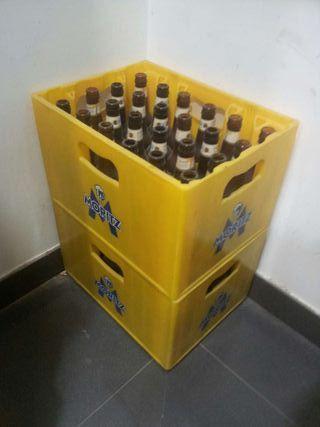 Cajas de cervezas